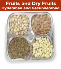 Fruits and Dry Fruits door delivery to Hyderabad and Secunderabad