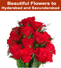 Flowers to Hyderabad India