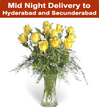 Midnight Gifts Cakes Flowers Sweets to Hyderabad and Secunderabad