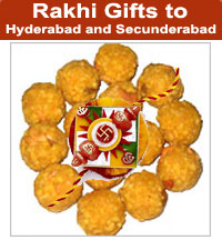 Sweets from Pulla Reddy Sweets